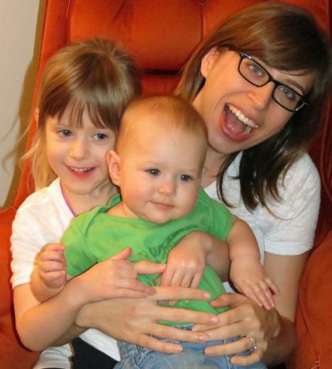 Rylin, Ashlyn and Aunt Jessie
