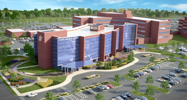 The new face of OMC: A four-story obstetrics wing scheduled to open in early 2017.