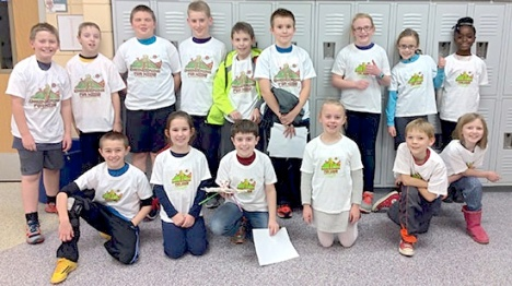 Fifteen students in third and fourth grade at Manchester Park Elementary School took part in the Blast Off: Engineering for Kids after-school program this spring. Students met weekly for 90 minutes for six weeks.
