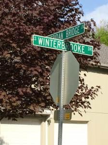 Sheridan and Winterbrooke sign